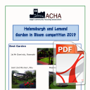 Garden in Bloom 2019 Helensburgh and Lomond Winners