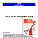 Estate Management Policy