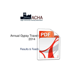 Gypsy Traveller Survey Results 2014