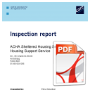 Sheltered Housing Care Commission Report 2011