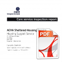 Care Inspectorate Report 2014
