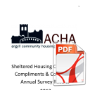 Sheltered Housing CCC Survey 2013, Results