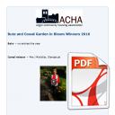 ACHA Garden in Bloom Winners 2016: Cowal and Bute