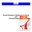 Schedule of Delegated Authority Financial Regulations v3