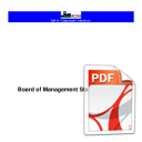 Board of Management Standing Orders 2016