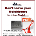 Look After The Elderly in Winter