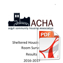 Sheltered Housing Guest Room Survey Results 2016-17