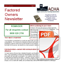 Factored Owners Newsletter 2016
