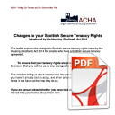 Changes to your Scottish Secure Tenancy Rights